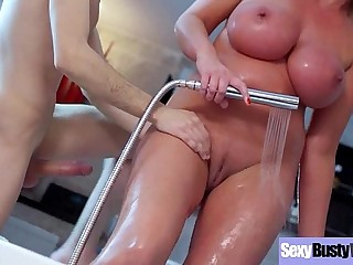 Big Tits Hot Milf (Leigh Darby) Realy Enjoy Hardcore Sexual congress On Tape clip-17
