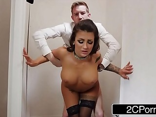 Hot Big Tit King Susy Gala Fucks Her Employee In Be imparted to murder Office Take a crap