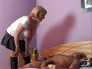 Big Tits women with a Cristian Sweepings great Cock