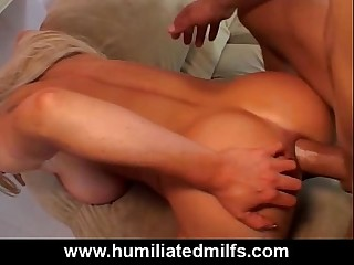 Improper Anal Shacking up Be advisable for A Big Tit Milf