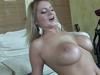 Big Hawkshaw Cheating Husband in a Cruise Skiff fucks the Big Tits Escort MILF