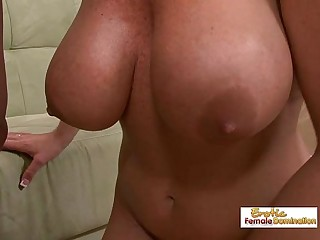 Big tit blonde MILF gets picked up, fucked and facialized