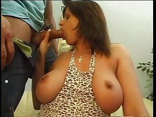 The big tits employed of many men Vol. 8