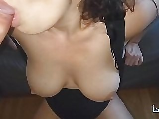Big Tits Amateur best blowjob until cumshot - Homemade