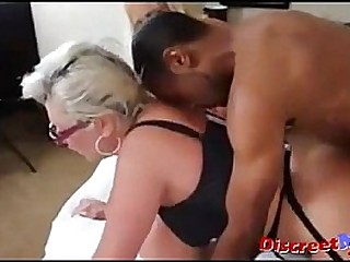 Huge tits milfs and bbc  threesome