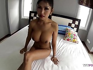 Amazing Thai Girl with big tits plus selfish pussy gets fucked almighty good