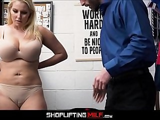 Big Tits Blonde Big Ass MILF Ex Wage-earner Sex About Guard After Deal Is Reached