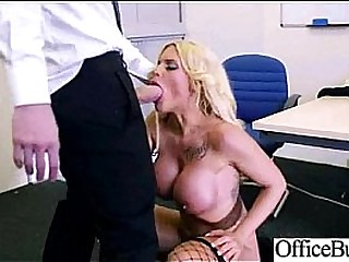 Hot Coitus Action In Office With Nasty Hot Bigtits Girl clip-13