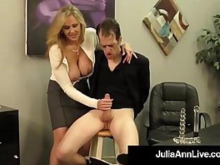 Julia Ann Handjob!