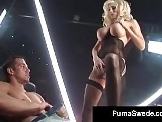 Swedish Porn Queen Puma Swede Fucks Johnny's Big Thick Cock!