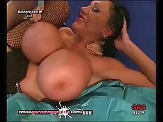 Big special and hardcore pounding for sexy MILF babe! German Goo Girls