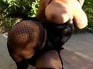 Huge tits black babe fucked