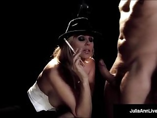 Queen of Milfs, Julia Ann, Takes Dramatize expunge Stage prevalent Bosomy HD! She smokes a Cig, while giving a Superbly Racy Blow Job & Convulsion Takes A Blarney In her Wet Pussy! Full Video & Live @JuliaAnnLive.com