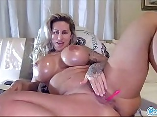 Ryan Conner Huge Boobs Hot MILF plays with her Broad in the beam Ass and Tight Pussy